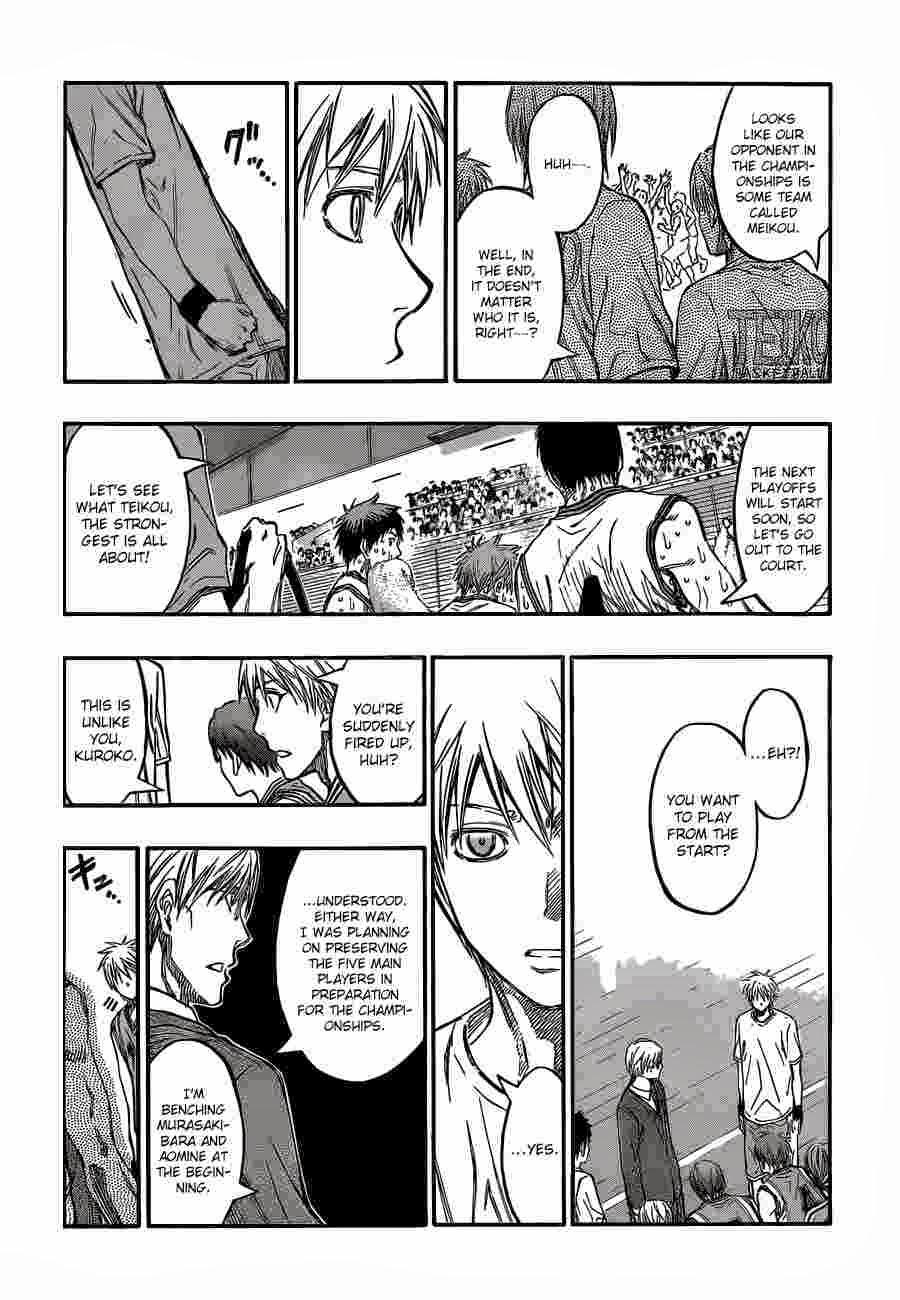 Kuroko no Basket Manga Chapter 225 - Image 13