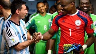 Nigeria football news, Enyeama Appreciate Fans, Congratulates 2014 African Player Of TheYear, Yaya Toure