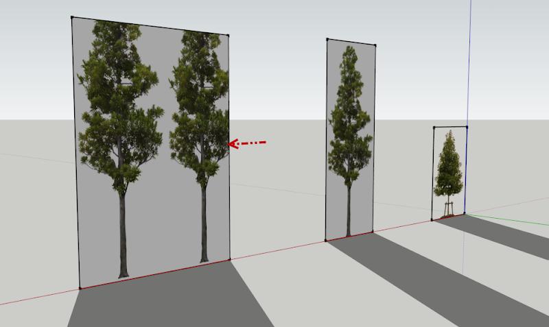 การกำหนดค่า Material ของต้นไม้แบบ 2D ให้มีความโปร่งใส Vraytree14