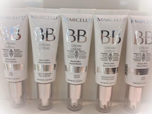 Marcelle BB cream shade extensions
