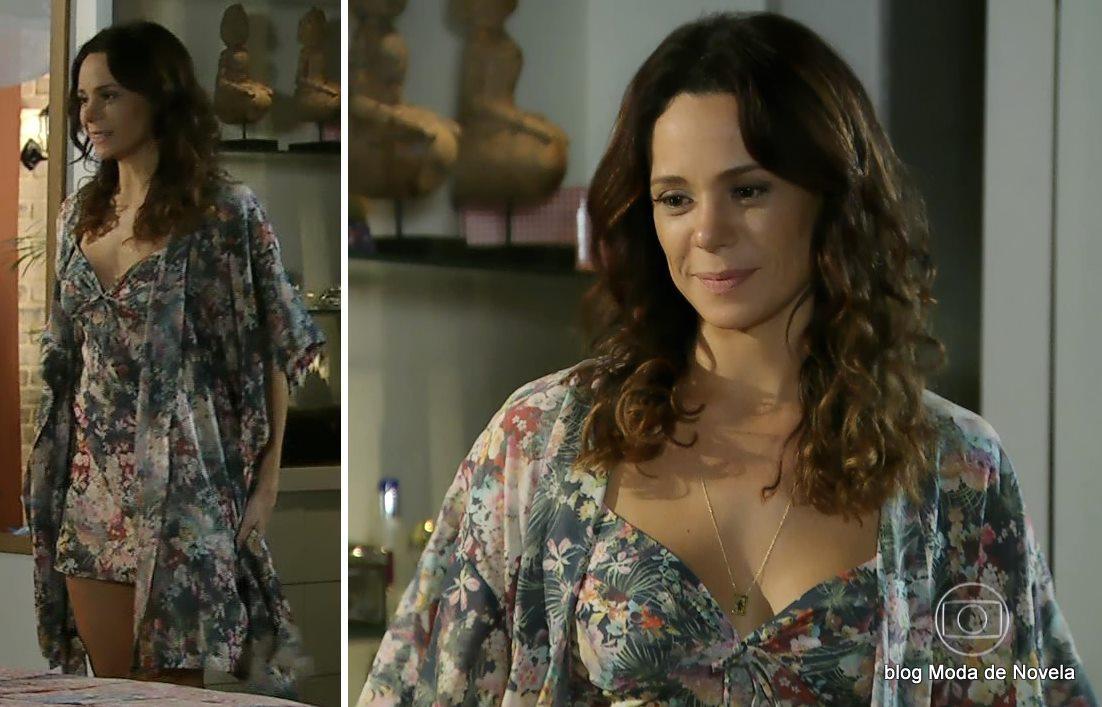 moda da novela Em Família - look da Juliana dia 30 de abril