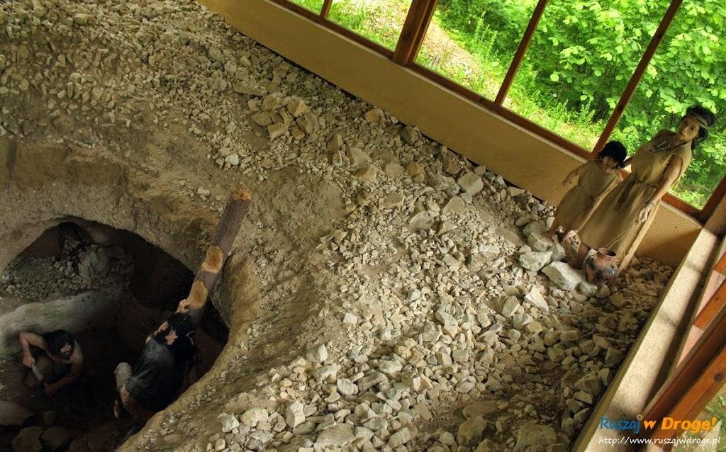 krzemionki  - kopalnia krzemienia pasiastego