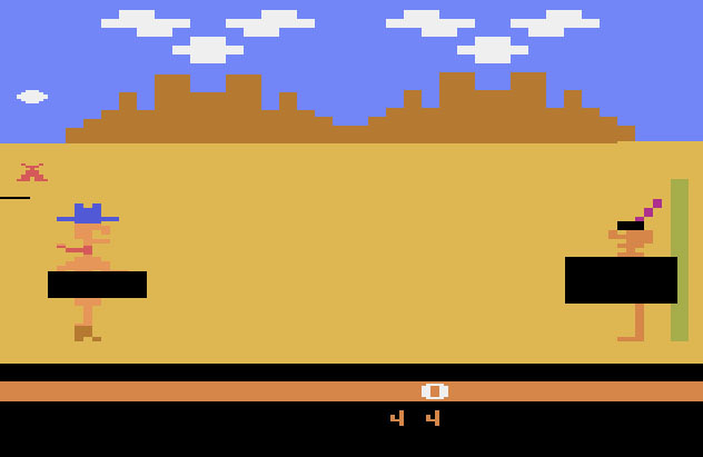 Custer's Revenge Atari 2600
