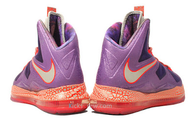 nike lebron 10 gr allstar galaxy 4 04 Nike Upgrades LEBRON X ALLSTAR Area 72 with $200 Price Tag