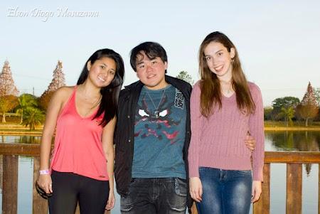 Emily, eu & Aline