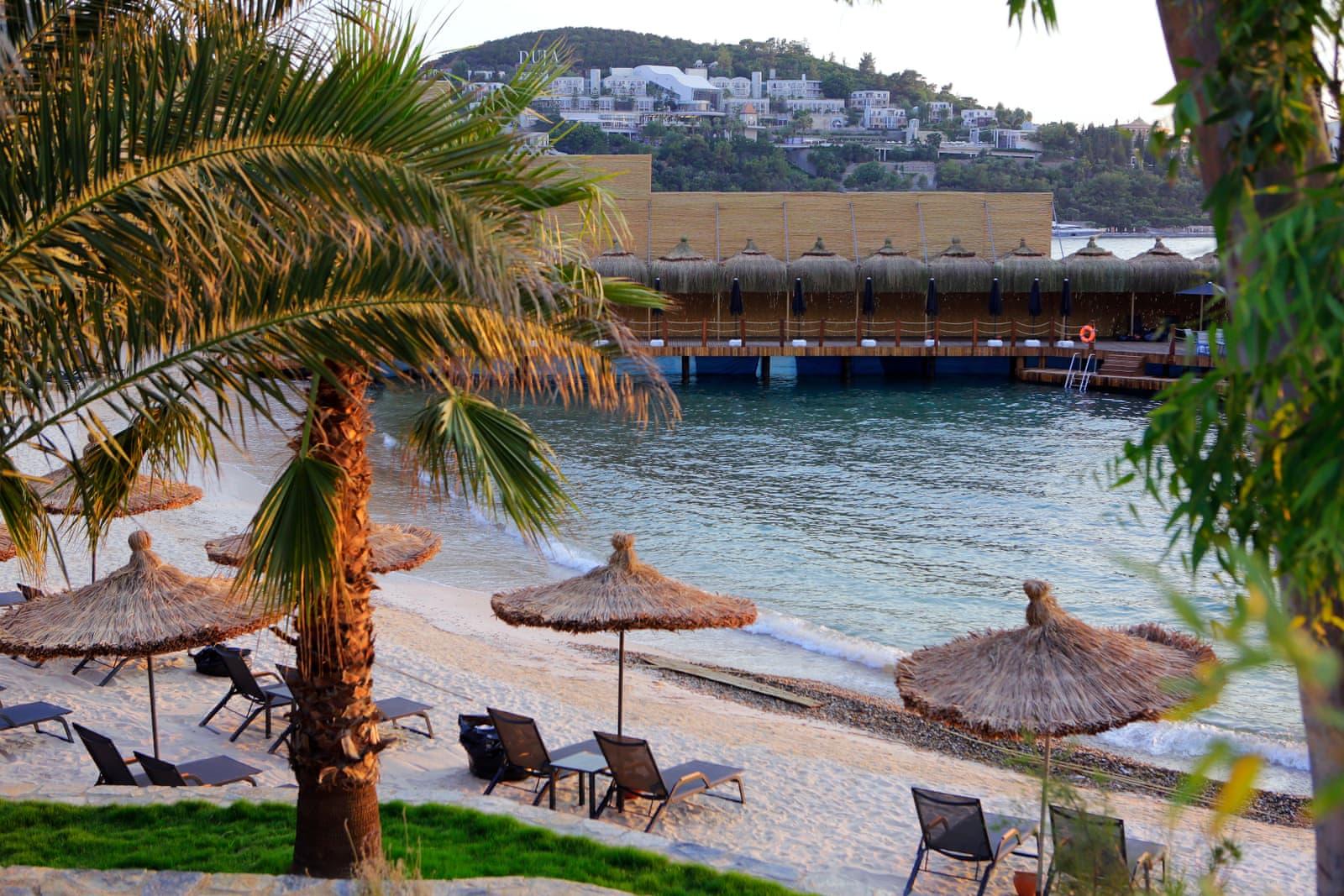 Strand nur für Frauen im Oba Hotel