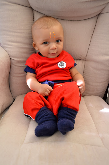 Krillin Dragon Ball Z baby costume