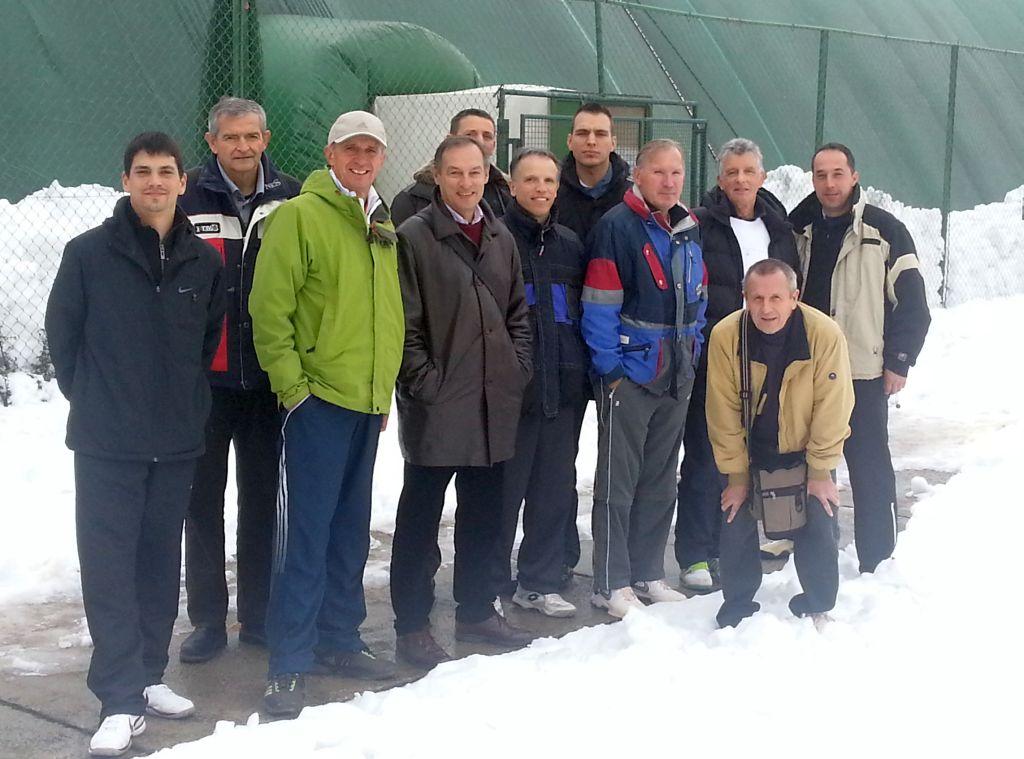 Istarski tenisači u Zagrebu,Trnje - 2012