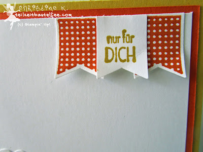 stampin up, banner banter, sags mit fähnchen, mixed bunch, incolors