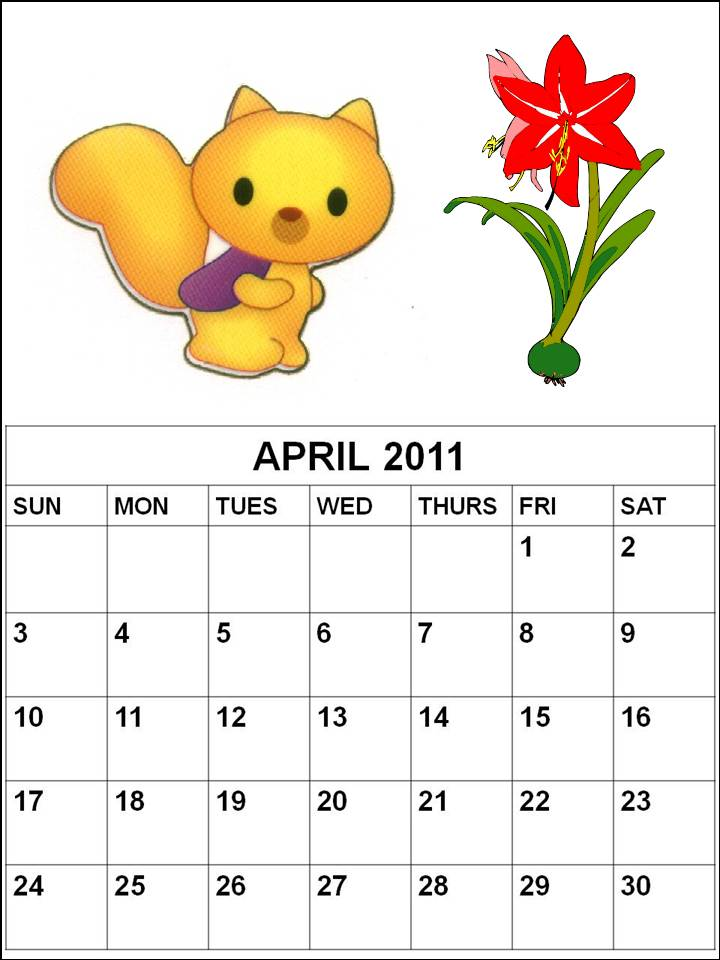 2011 calendar may and june. 2011 CALENDAR APRIL MAY JUNE
