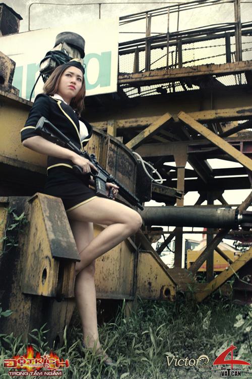 Nhóm Vật Cản công bố bộ ảnh cosplay Đột Kích mới 7