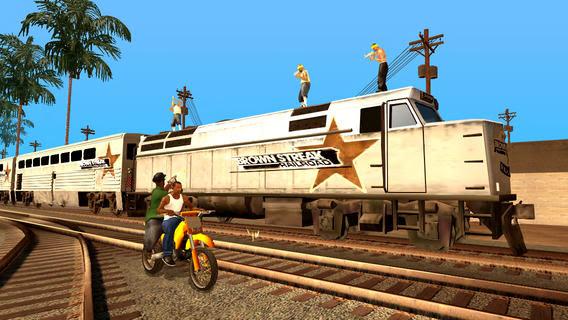 Grand Theft Auto: San Andreas v1.03 for iPhone/iPad