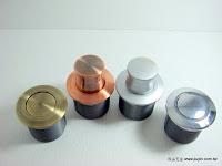 裝潢五金 品名:圓型伸縮暗把手 規格:28MM 顏色:AB/紅古/SC/PC 玖品五金