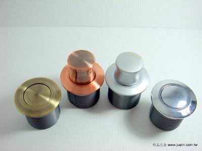 裝潢五金品名:圓型伸縮暗把手規格:28MM 顏色:AB/紅古/SC/PC 玖品五金
