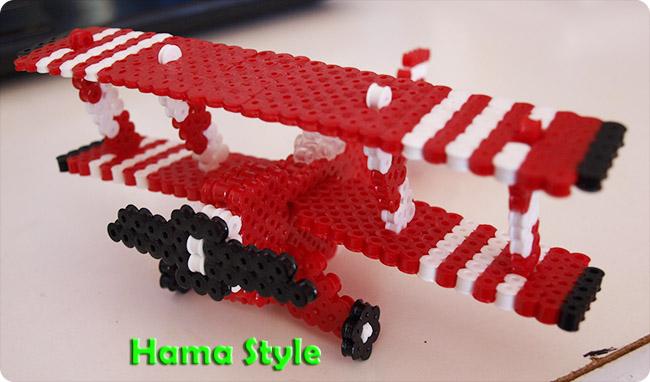 Trabajos 3D Hama Style Avi%25C3%25B3n5