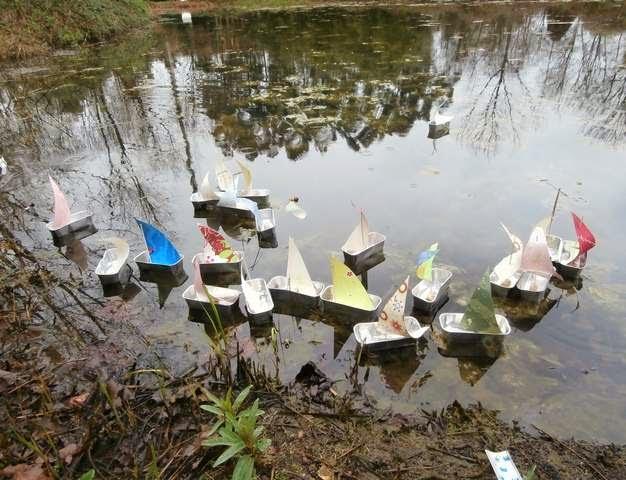 Botado de los barcos