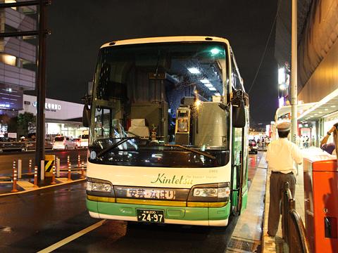近鉄バス「国虎号」 2302 あべの橋駅改札中
