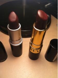 My Name is Romy and I'm a Beautyholic: Dark lips + MAC dupe!!