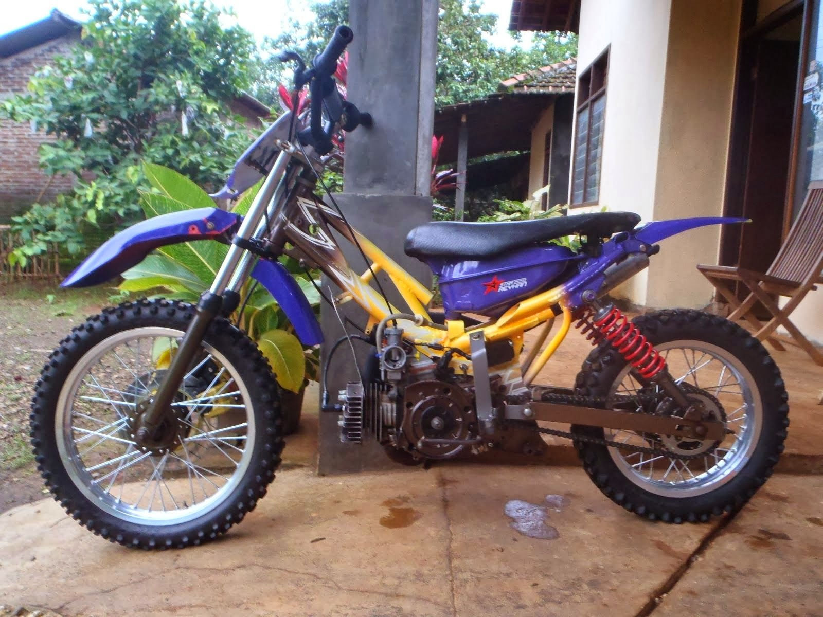 Motor Yamaha Force One Modifikasi