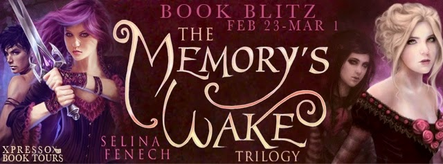 Book Blitz: The Memory's Wake Trilogy by Selina Fenech