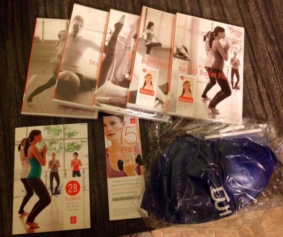 Barre3 28 to Great package