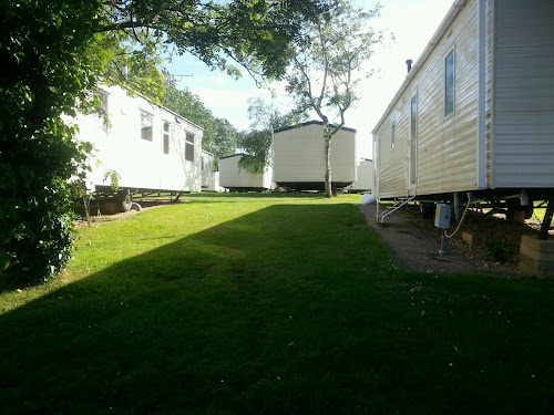 Camping  at Landguard Holiday Park