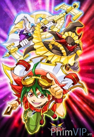 Vua Bài Pháp Thuật - Bản 5 - Yu-gi-oh! Arc-v poster