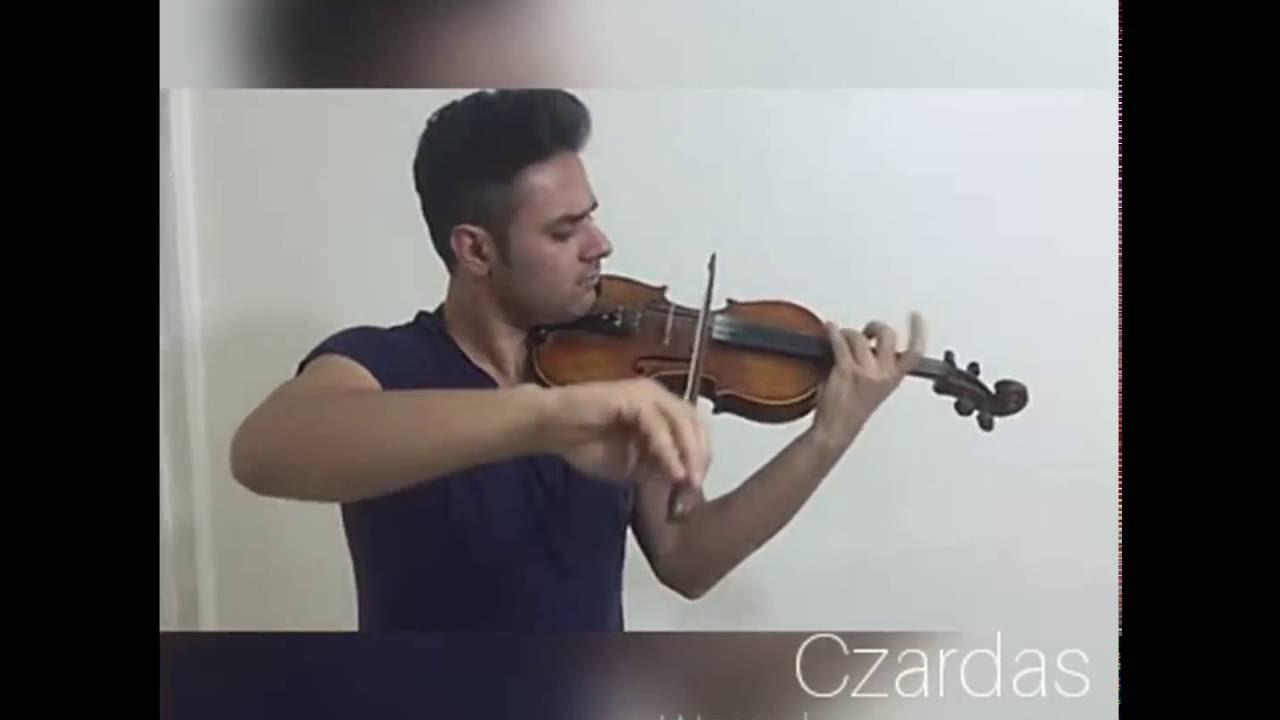 احسان وزیری نوازندهی ویولن استودیو آوای همنواز