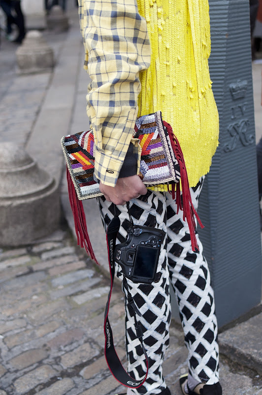 Street Style at London Fashion Week Autumn/Winter 2013