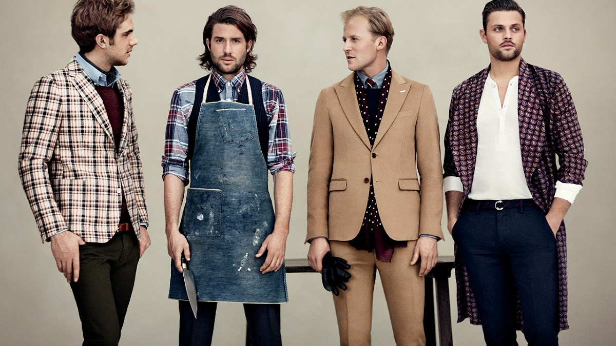 Gant Rugger & Unkempt Sprezzatura [men's fashion]