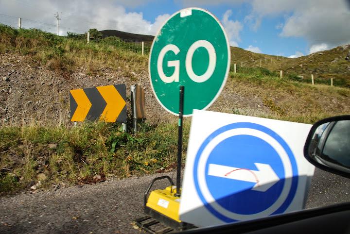 Road signs, Ireland