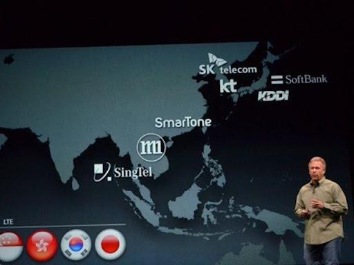 iPhone 5 HK LTE