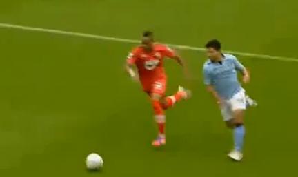 Sergio Aguero, Manchester City - Southampton