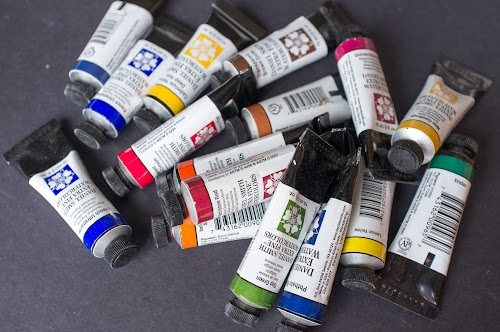 Daniel Smith watercolour tubes