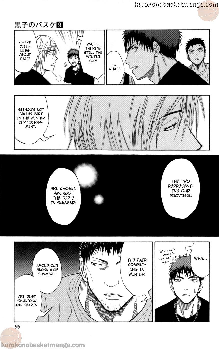 Kuroko no Basket Manga Chapter 75 - Image 09