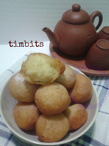 its my live, its my problem, anything here: Resep Timbits