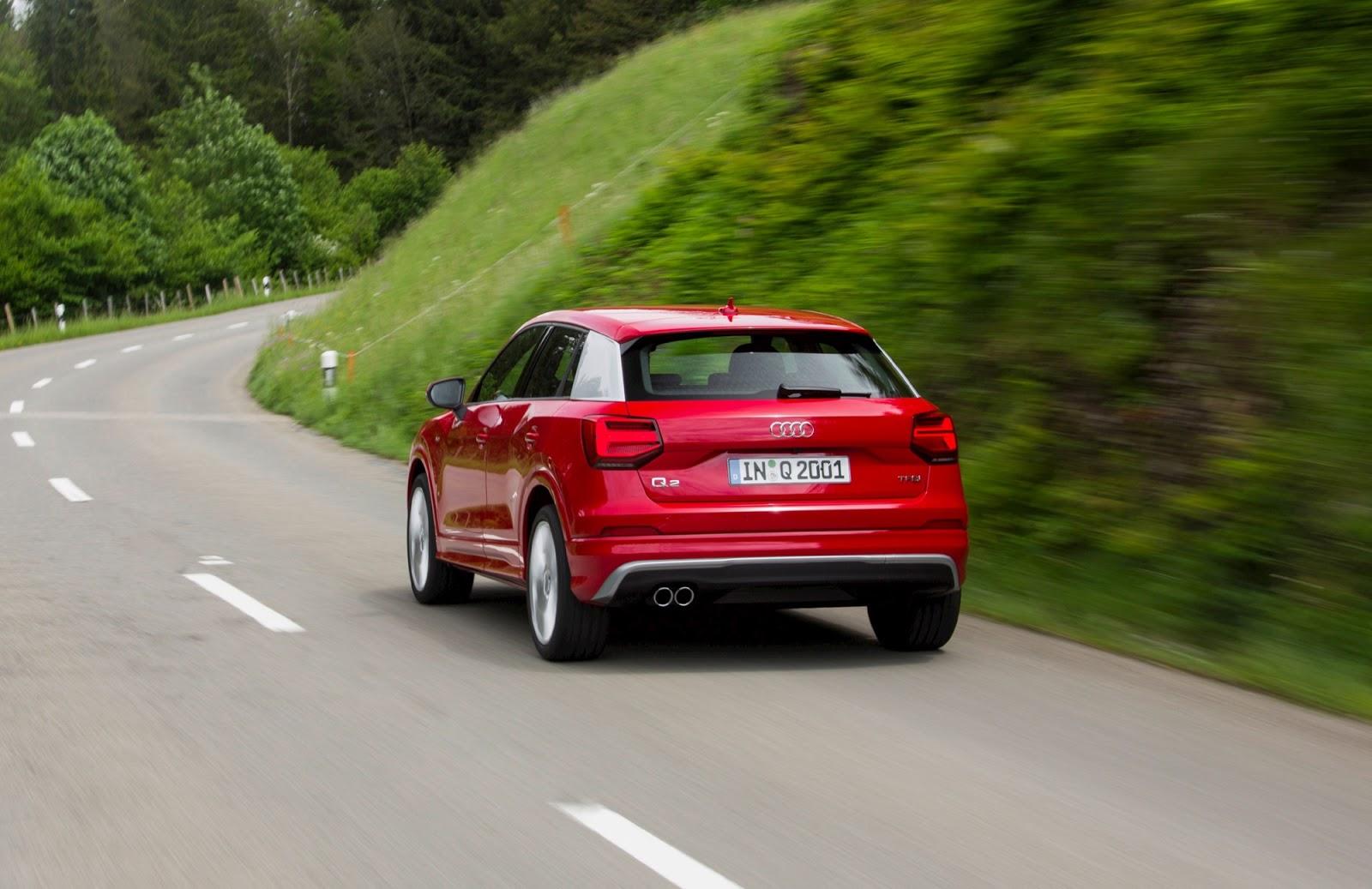 Khả năng vận hành của Audi Q2 2017 rất đa nhiệm