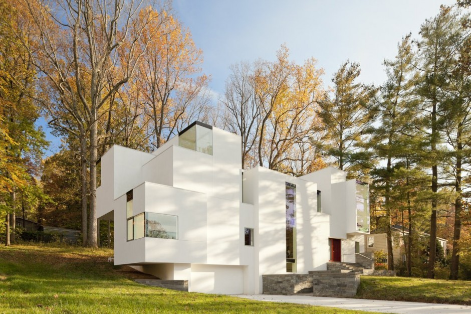 The NaCl House design by David Jameson Architect
