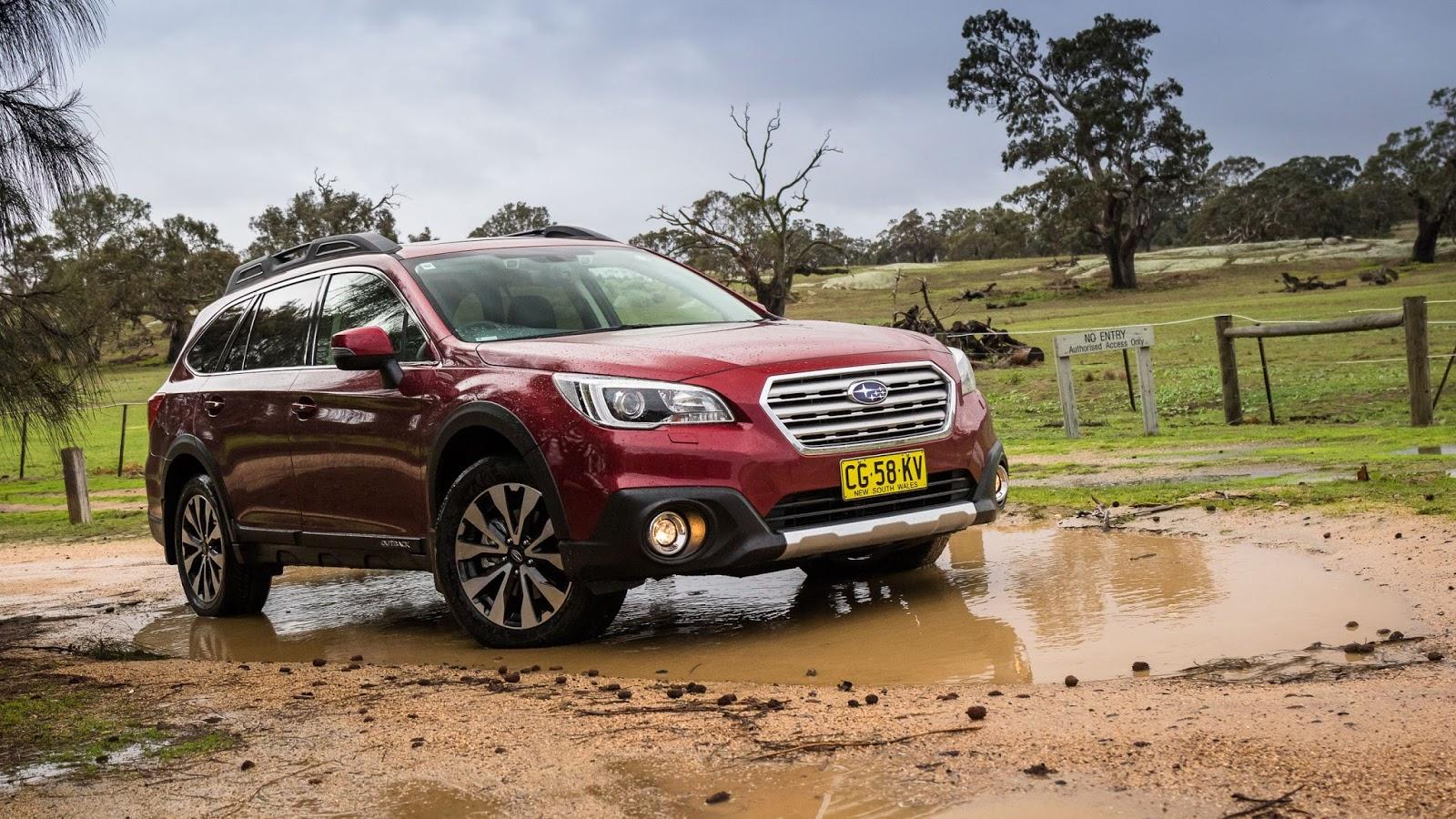 Subaru Outback 2016 là một chiếc xe đỉnh với trải nghiệm lái tuyệt vời