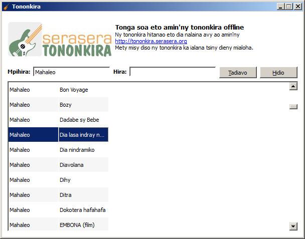Tononkira