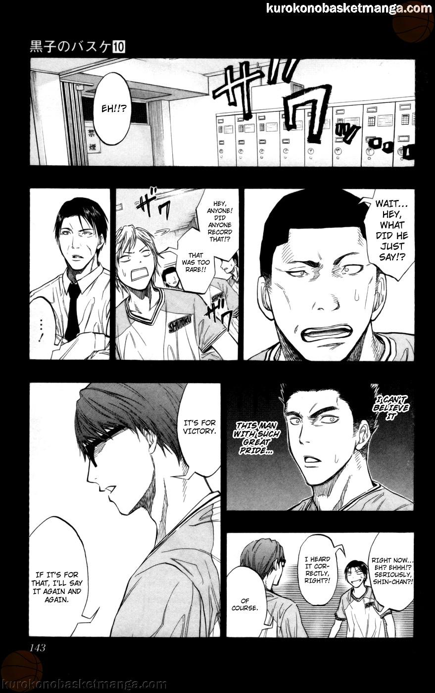 Kuroko no Basket Manga Chapter 87 - Image 17