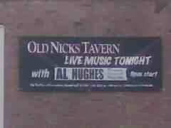 Live Music banner ad