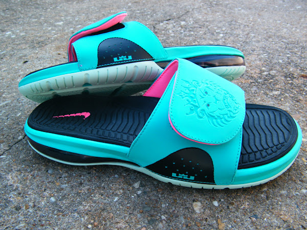 Lebron Air Slide South Beach
