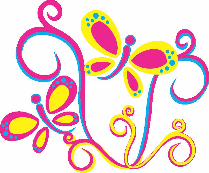 Dibujos De Mariposas Infantiles A Color: Mariposa Infantil Png