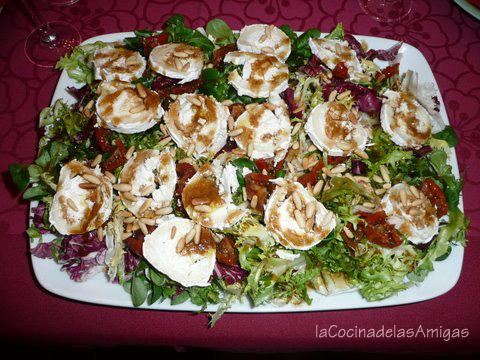 Cocina de siempre f cil y muy rica ensalada gourmet con - Ensaladas gourmet faciles ...