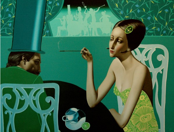 Slava Fokk 1976 | Russian Symbolist painter