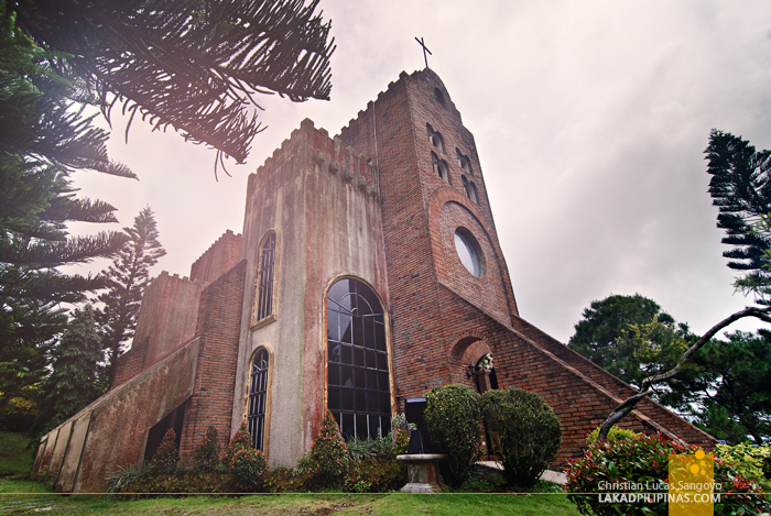 The Famous Caleruega Church at Nasugbu, Batangas