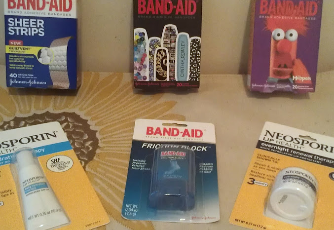Stocking Stuffer Ideas: Designer Bandaids and Neosporin Lip Health