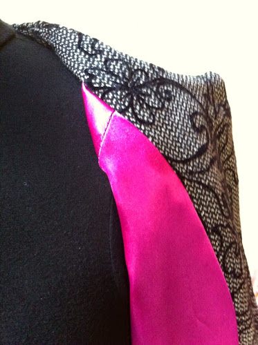 Couture doublure veste Chloé maison Victor