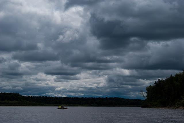 Утро на реке Вятке